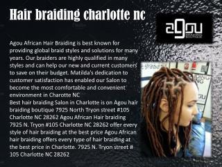 African hair braiding charlotte nc