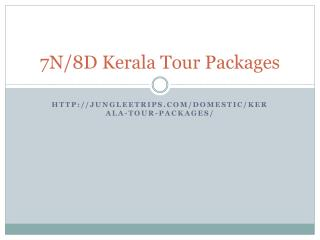 Kerala Tour Packages - Kerala Holidays Packages From Delhi