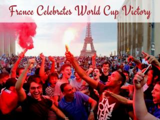 France celebrates World Cup victory
