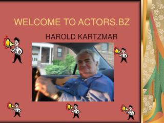 WELCOME TO ACTORS.BZ
