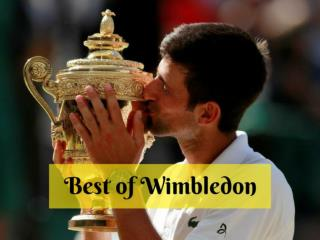 Best of Wimbledon 2018