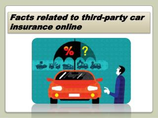 Ppt Third Party Car Insurance Online Powerpoint Presentation Free Download Id 7961526