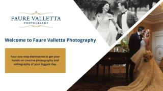 Wedding Photography and Videography in Sydney - Faure Valletta Photography