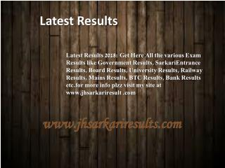 Latest Results
