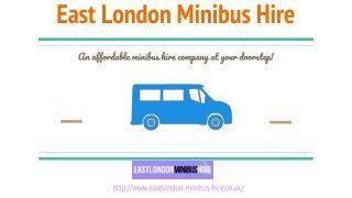 East London Minibus Hire : Minibus Hire east London