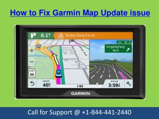 How To Fix Garmin Maps update Issue Call on @  1-844-441-2440