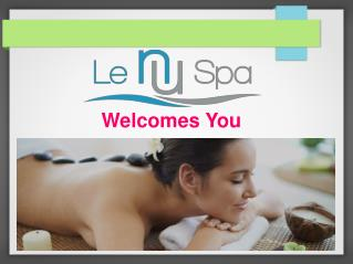 Services Available Regarding Body Treatment