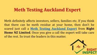 Meth Testing Auckland Expert