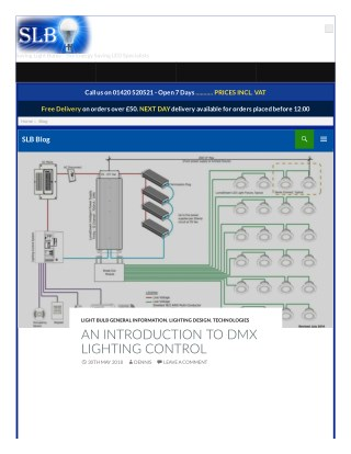 AN INTRODUCTION TO DMX LIGHTING CONTROL