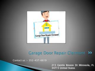 Get garage door spring replacement services