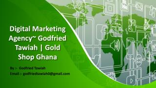 Advanced Marketing Strategy ~ Unique Rock Limited | Gold Shop Ghana