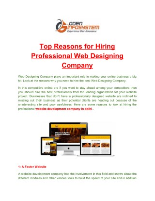 Best Website Development Company in Delhi