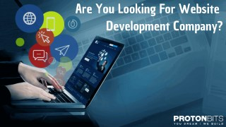 Website Application Development Company - ProtonBits