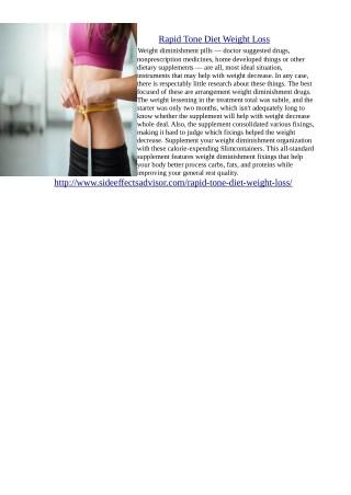 http://www.sideeffectsadvisor.com/rapid-tone-diet-weight-loss/