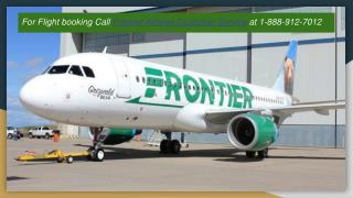 Frontier Airlines Customer Service Call 1-888-912-7012