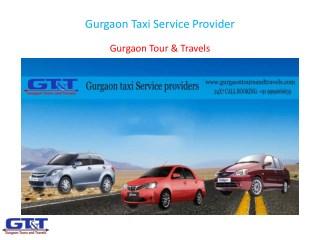 Gurgaon Taxi Service Provider