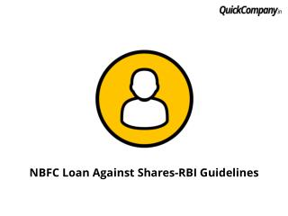 NBFC Loan Against Shares-RBI Guidelines