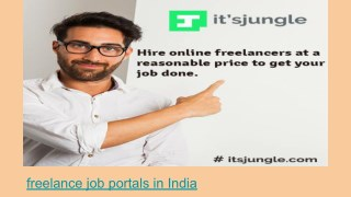freelance job portals in India