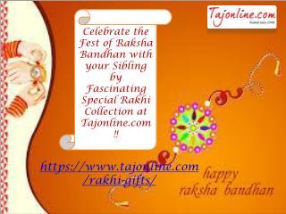 Celebrate Raksha bandhan - Rakhi Collection