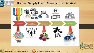 Brilliant Supply Chain Management System Software