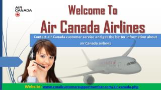 Contact Air Canada Customer Service for Airlines Queries