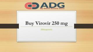 Virovir 250 mg Tablet