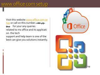 www office com setup