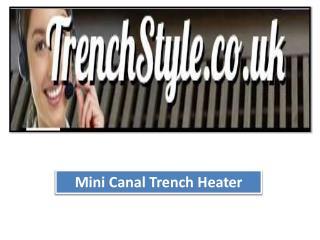 Trench radiators uk