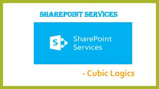 SharePoint Services - Cubiclogics
