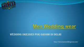 Sherwani Shops in Delhi | Men Wedding Wear