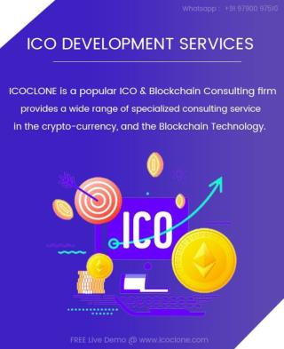 How ICOCLONE famous for End-to-End ICO development service?