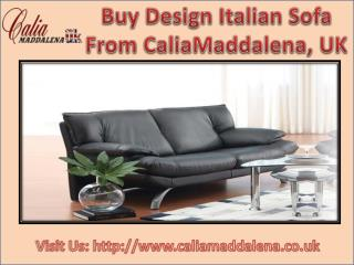 Italian Sofa From Calia Maddalena
