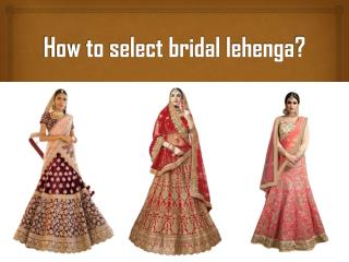 Bridal Wear Collection 2018
