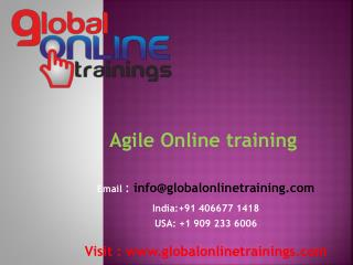 Agile training | Best Agile scrum master training with a certification