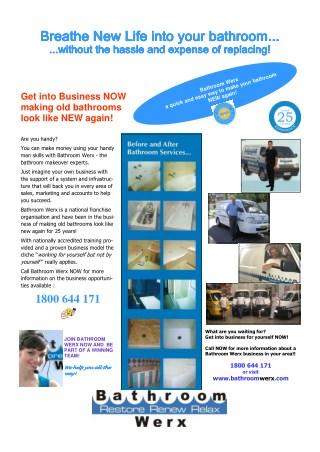 Bathroom Werx Online Presentations Channel