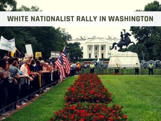 White nationalist rally in Washington