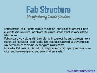 Tensile Structure In Delhi - Tensile Fabric Structure