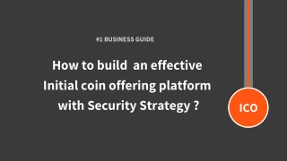 How to start ICO business website in few weeks - Step-by-Step  Guide for Startups