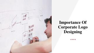 Importance Of Corporate Logo Designing