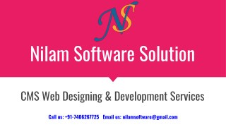 CMS Website Design Services in India