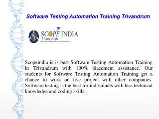 Software Testing Training Kerala