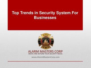 The Latest Trends in Commercial Security Systems