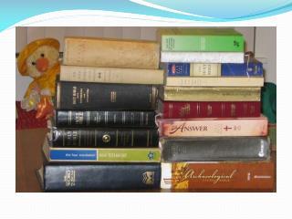 Bible Versions