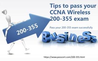 ccna wireless 200 355 dumps free download