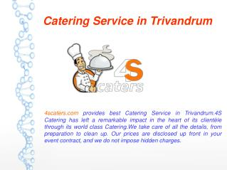 Catering Service in Trivandrum