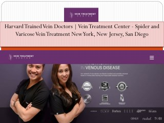 Harvard Trained Vein Doctors | Vein Treatment Center - Spider and Varicose Vein Treatment New York, New Jersey, San Dieg
