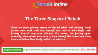The Three Stages of Rehab