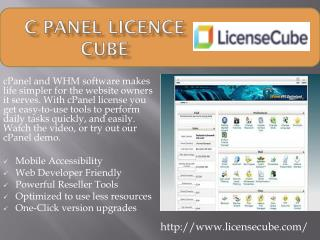PPT - cPanel License Reseller PowerPoint Presentation - ID