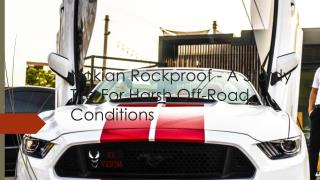 Nokian Rockproof - A Sturdy Tire For Harsh Off-Road Conditions
