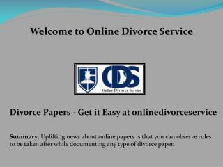 how to get divorce papers, low cost divorce, file for divorce online